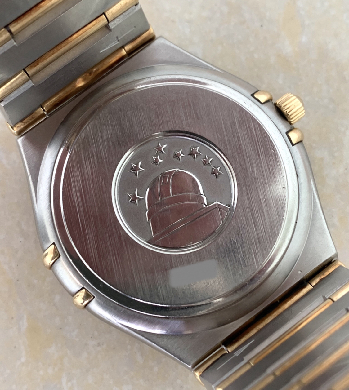 Omega Constellation Steel&Gold