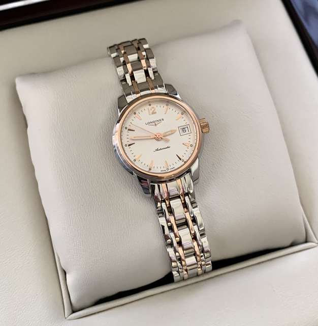 Longines Saint-Imier Steel & Rose Gold