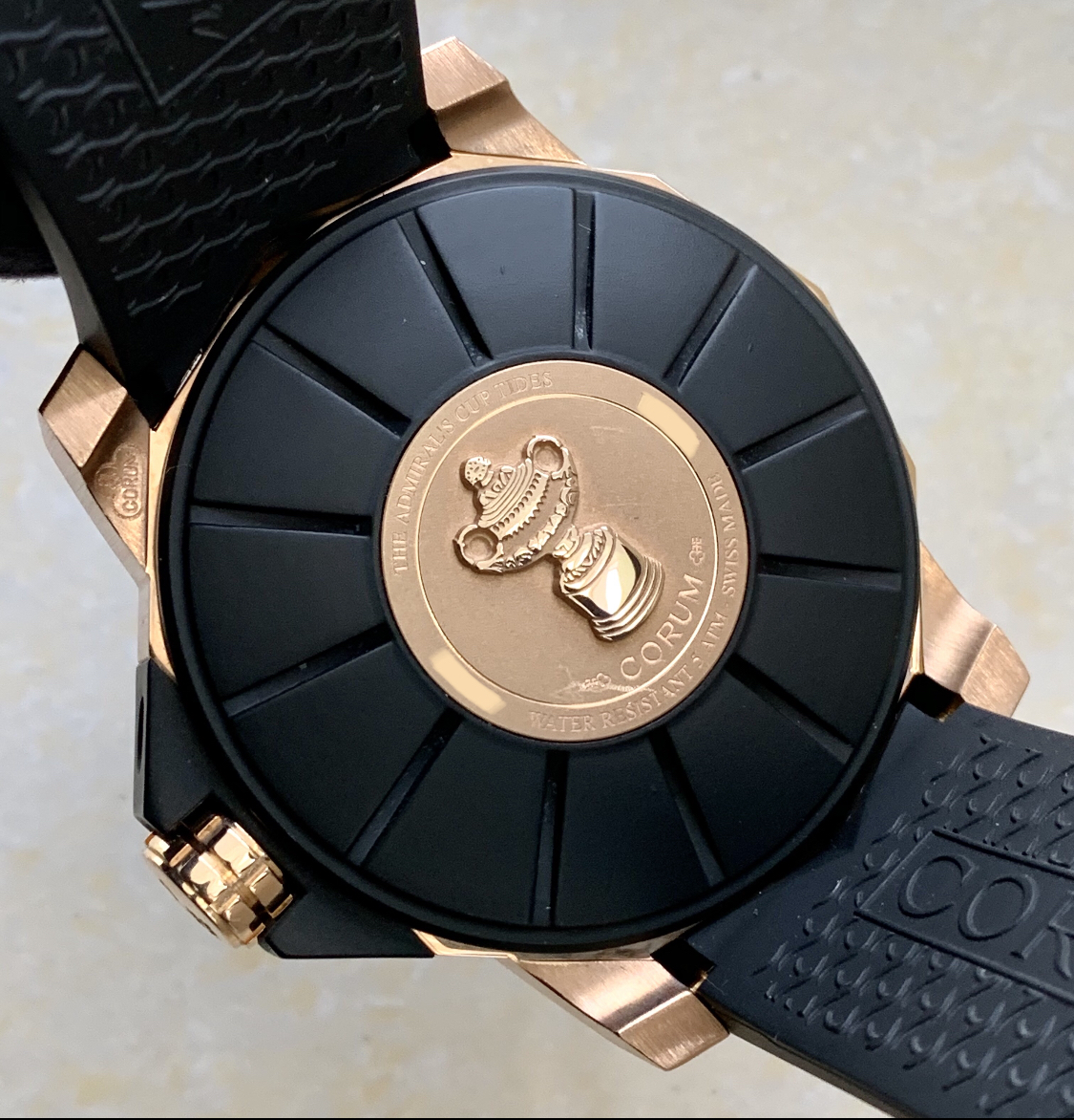 Corum Admiral's Cup Seafender Tides Rose Gold