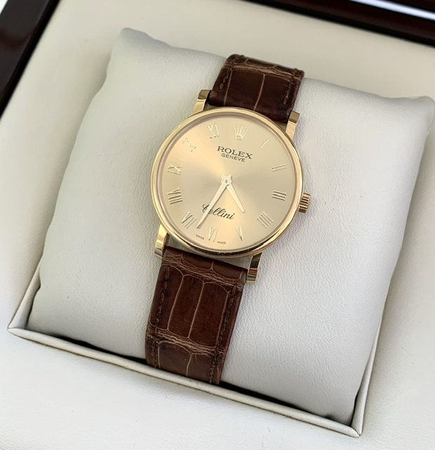 Rolex Cellini Rose Gold