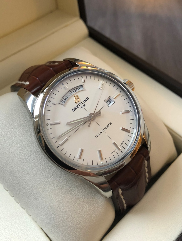 Breitling transocean day date forum
