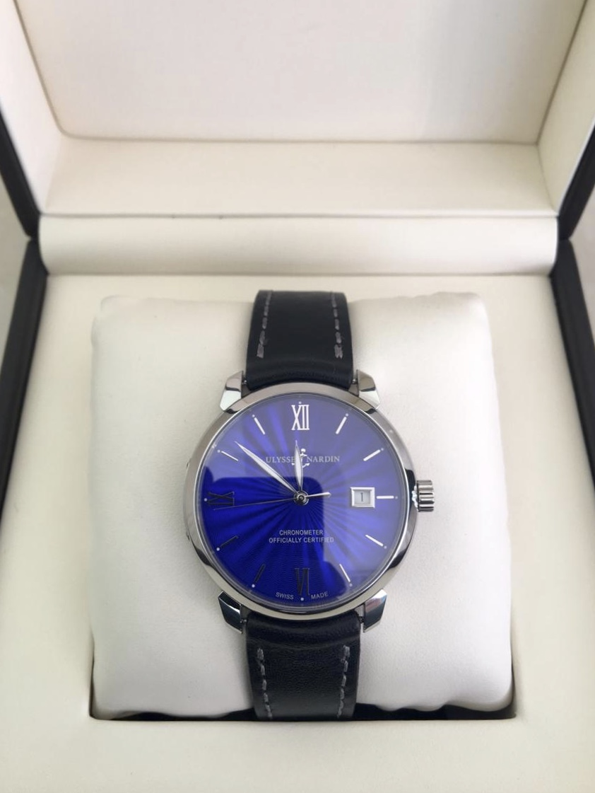 Ulysse Nardin Classico Blue Dial