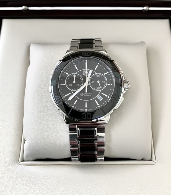 Tag Heuer Formula 1 Chronograph Black Ceramic