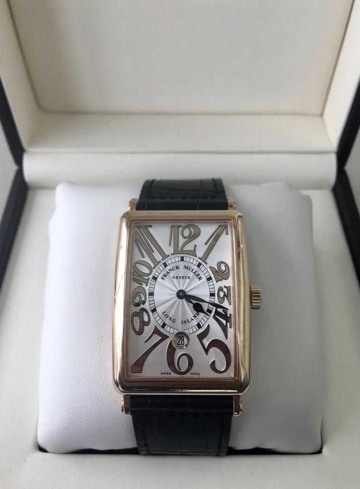 Franck Muller Long Island Relief Gold