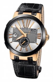 Ulysse Nardin Executive Dual Time Rose Gold
