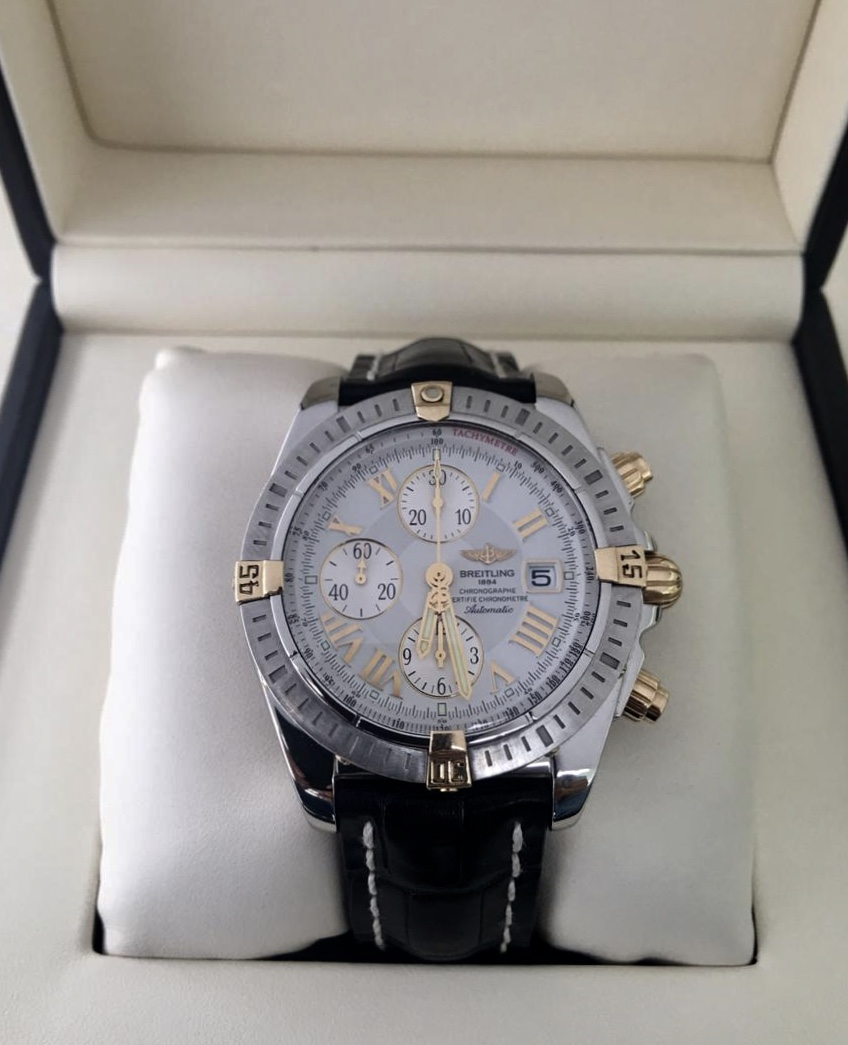Breitling Chronomat Evolution Steel & Gold