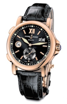 Ulysse Nardin Dual Time Rose Gold
