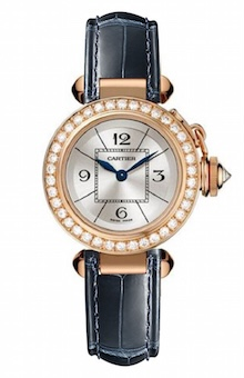 Cartier Pasha Rose Gold Diamonds