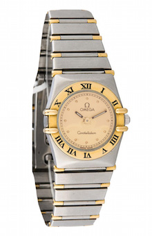 Omega Constellation Steel & Gold