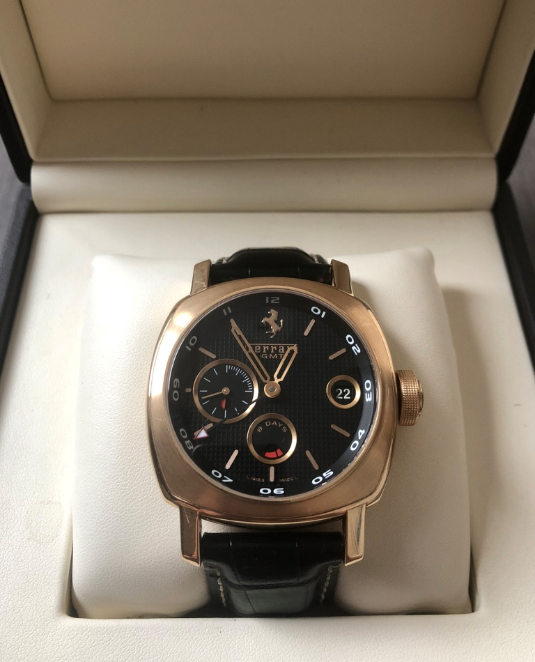 Panerai for Ferrari 8 Days GMT Limited Edition