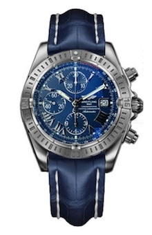 "Купить часы Breitling Chronomat Evolution ""Blue"""