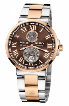 Ulysse Nardin Maxi Marine Chronometer Steel & Rose Gold
