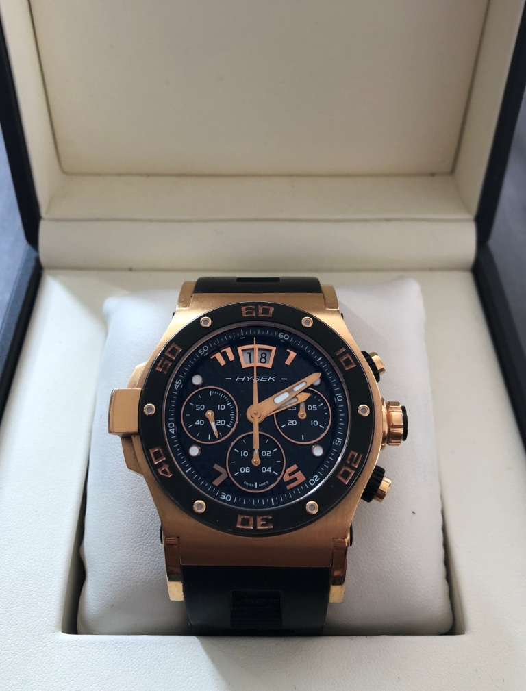 Hysek Abyss Explorer Rose Gold