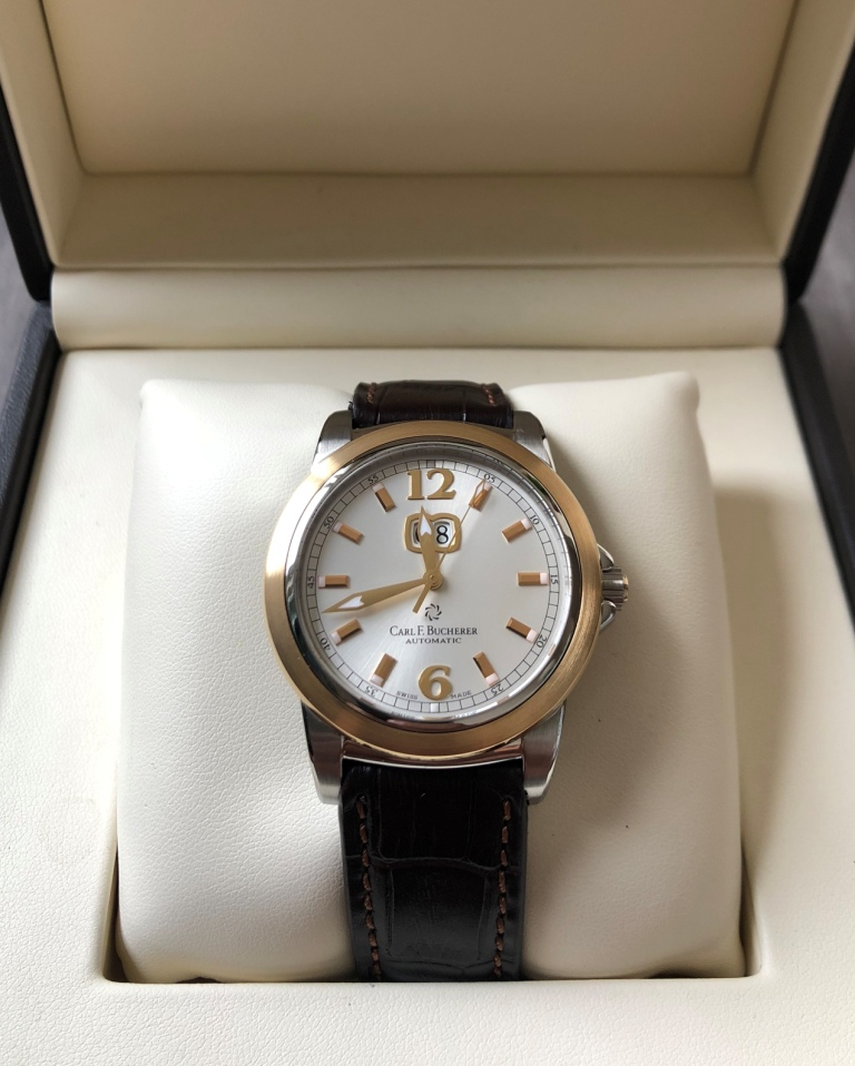 Carl F.Bucherer Patravi Steel & Gold